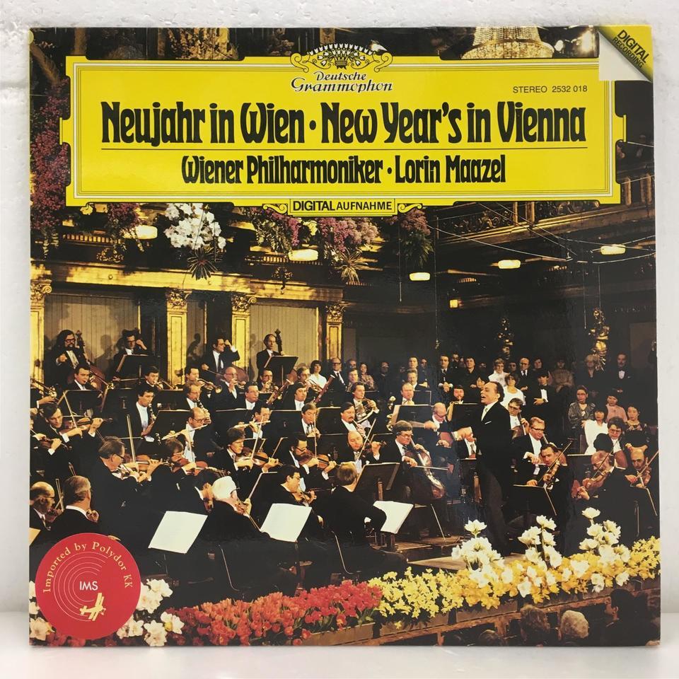 NEW YEAR'S IN VIENNA/LORIN MAAZEL J.シュトラウス 画像