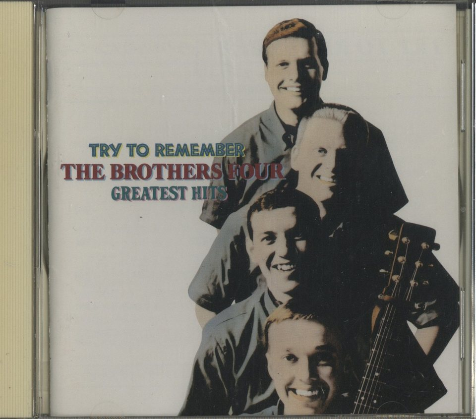 TRY TO REMEMBER/THE BROTHERS FOUR  画像