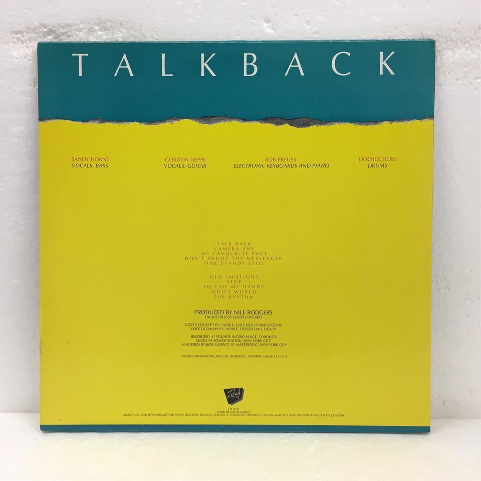 TALKBACK/SPOONS SPOONS 画像