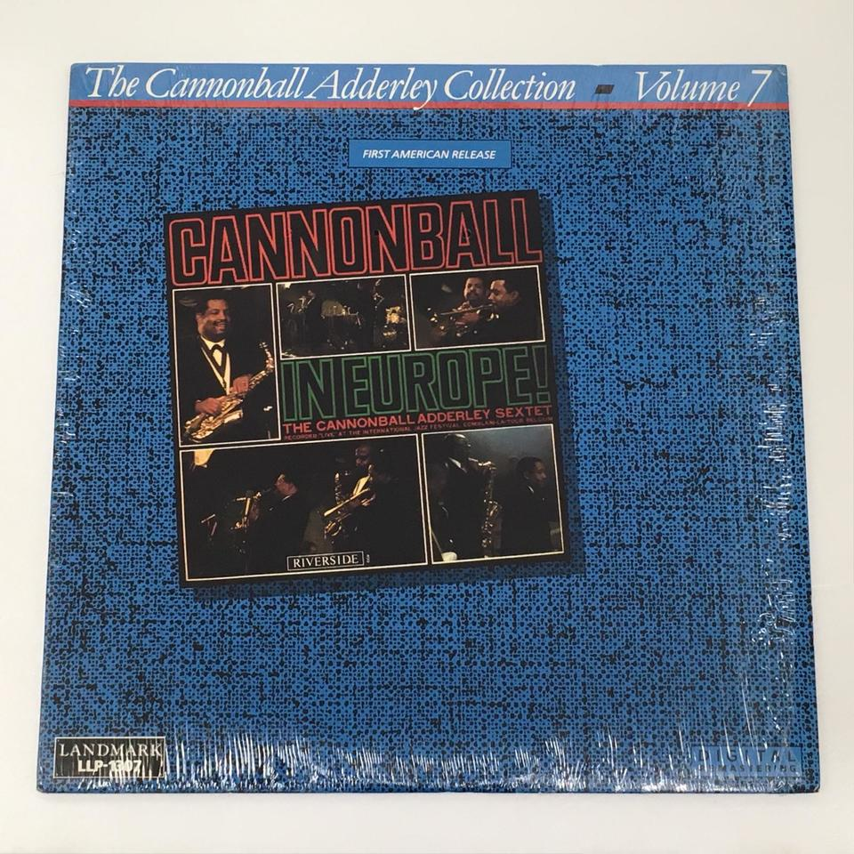 CANNONBALL IN EUROPE!/CANNONBALL ADDERLEY   CANNONBALL ADDERLEY 画像