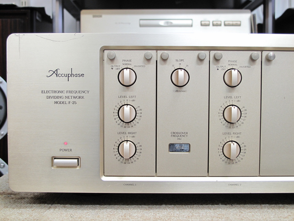 F-25 Accuphase 画像