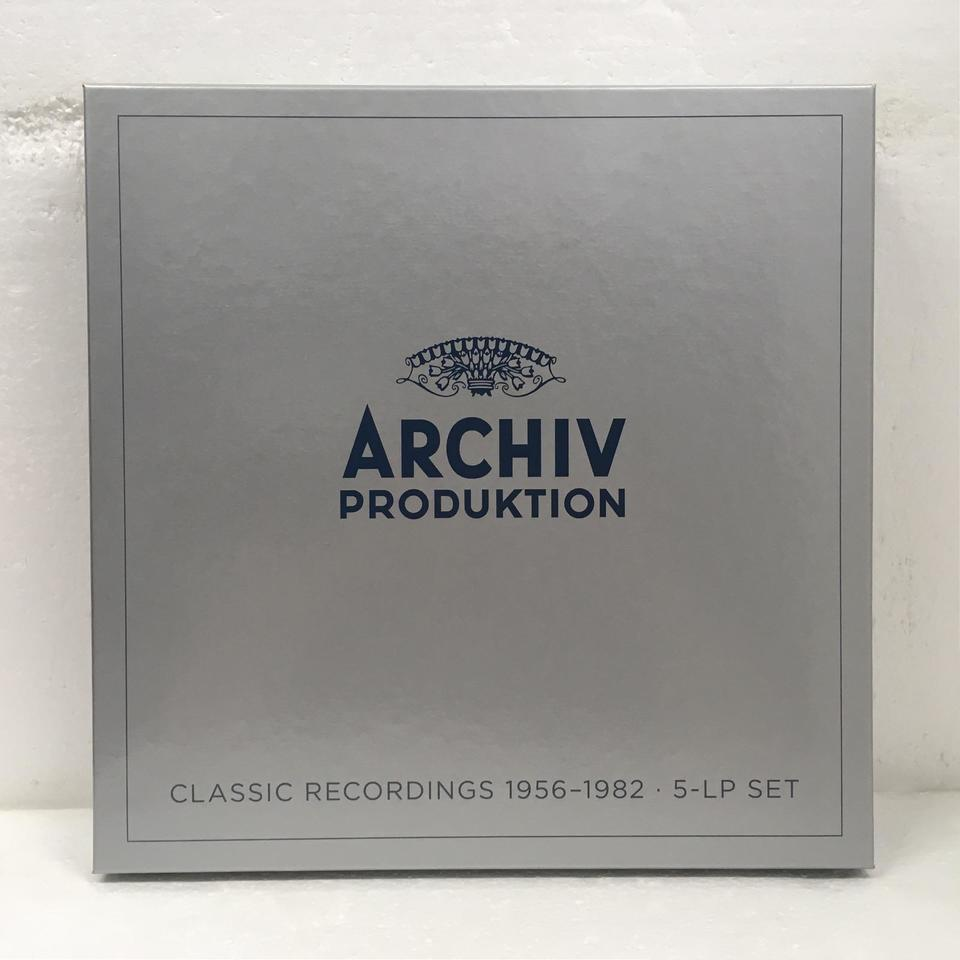 ARCHIV PRODUKTION CLASSIC RECORDINGS 1956-1982 J.S.バッハ/ムファット/ヘンデル 他 画像