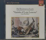 THE RENAISSENCE-LAUTE ・ VARIATION OF LUTE LESSONS/ルッツ・キルヒホーフ