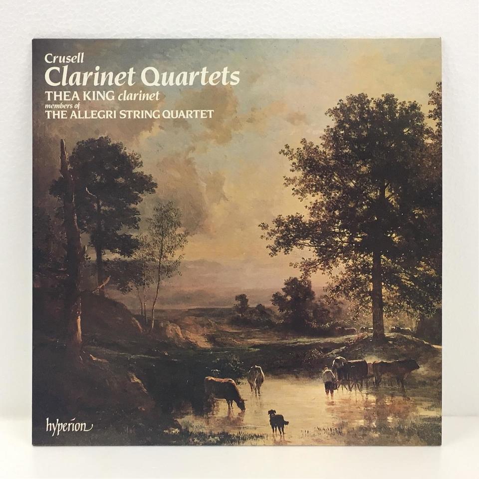 クルーセル:クラリネット四重奏曲第1番、第2番、第3番 クルーセル 画像