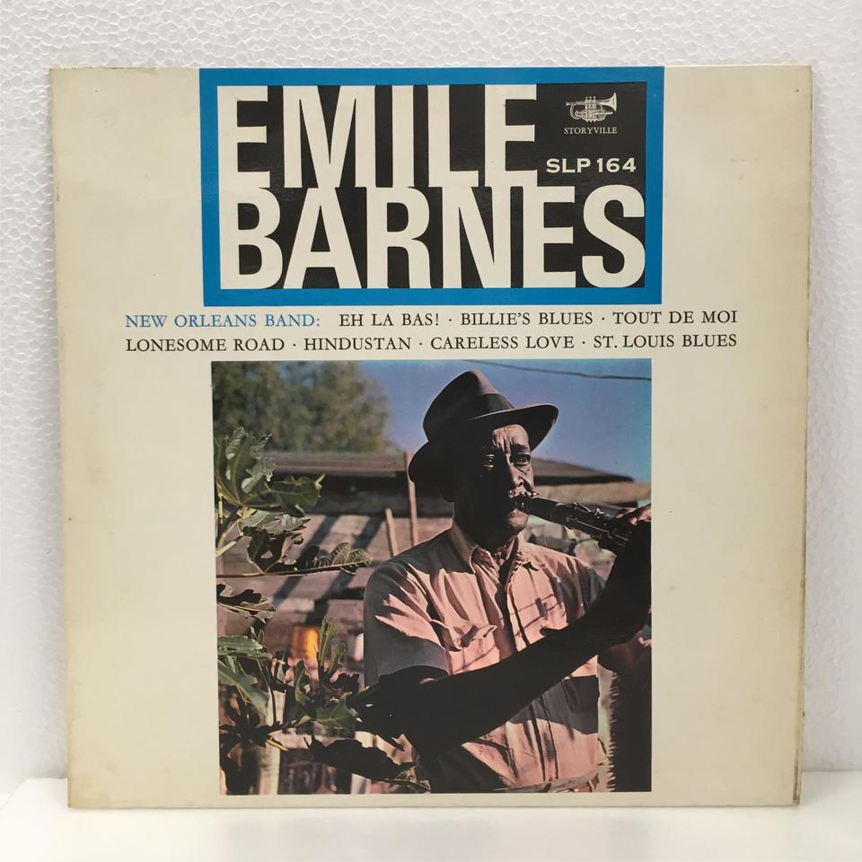 EMILE BARNES NEW OLEANS BAND EMILE BARNES 画像
