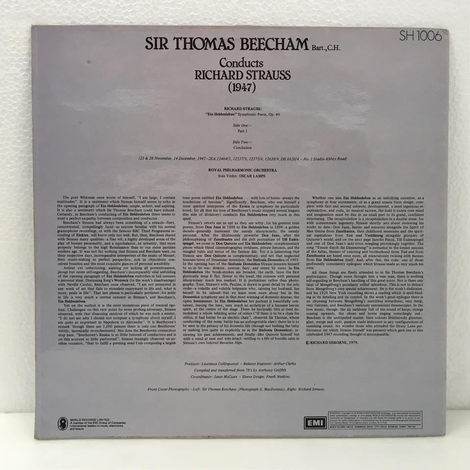 R.シュトラウス: 交響詩「英雄の生涯」 R.シュトラウス 画像