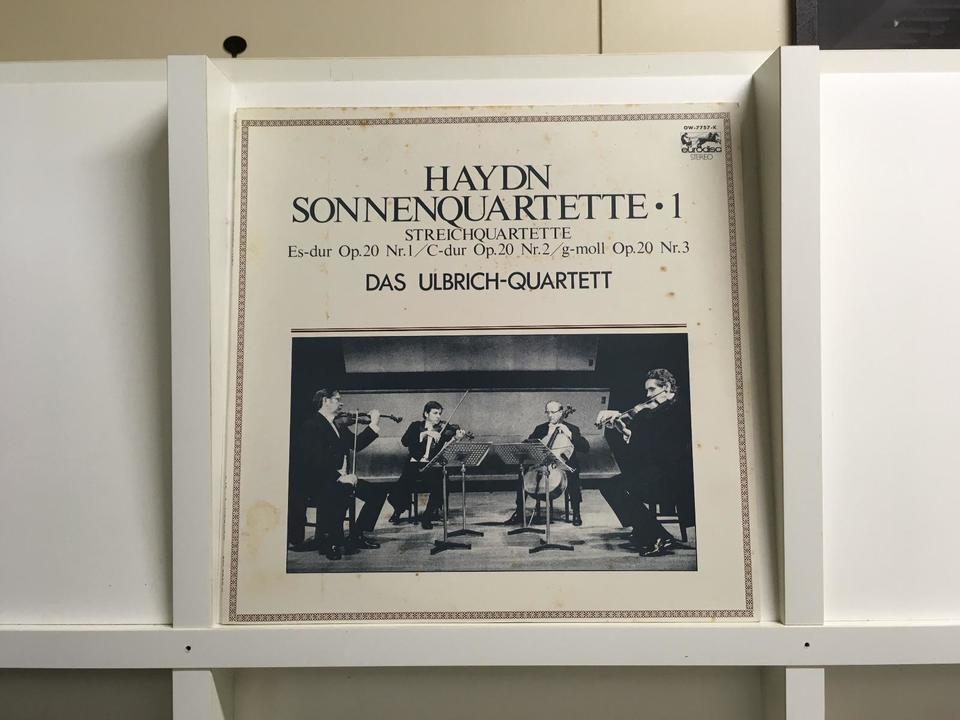 ハイドン弦楽四重奏曲集5枚セット  画像