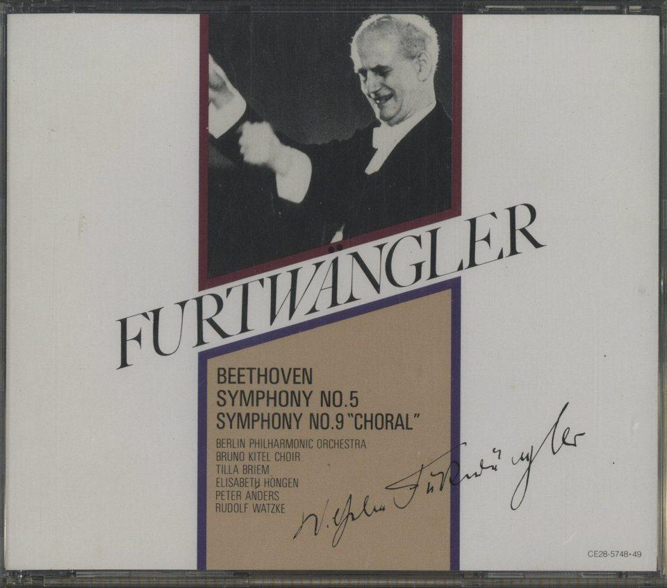 ベートーヴェン:交響曲第5番「運命」、第9番「合唱」 ベートーヴェン 画像