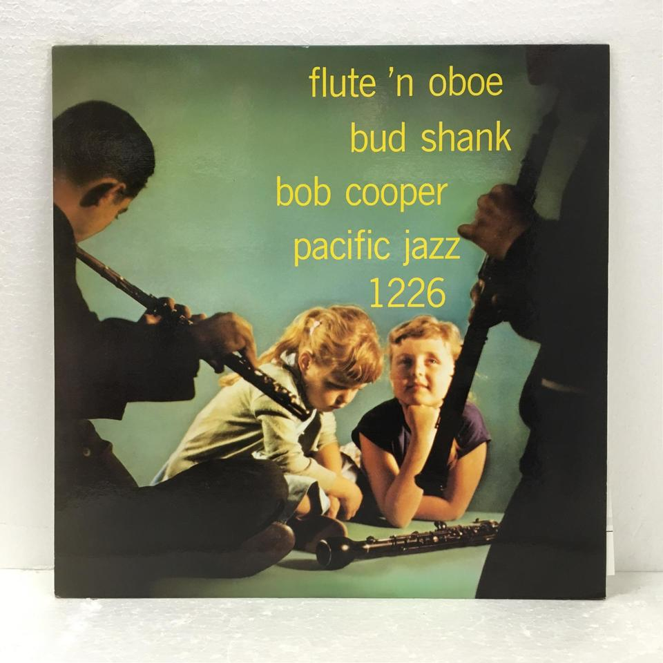 THE FLUTE AND THE OBOE/BUD SHANK&BOB COOPER BUD SHANK 画像