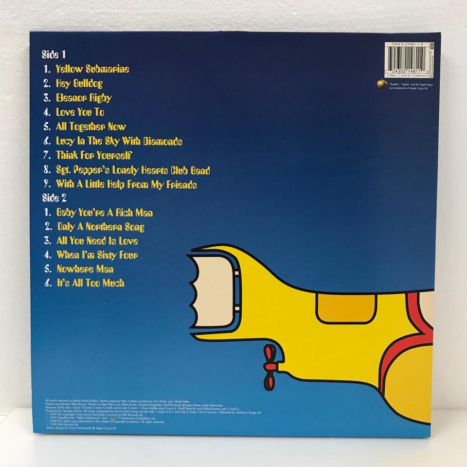 YELLOW SUBMARINE SONGTRACK/THE BEATLES THE BEATLES 画像