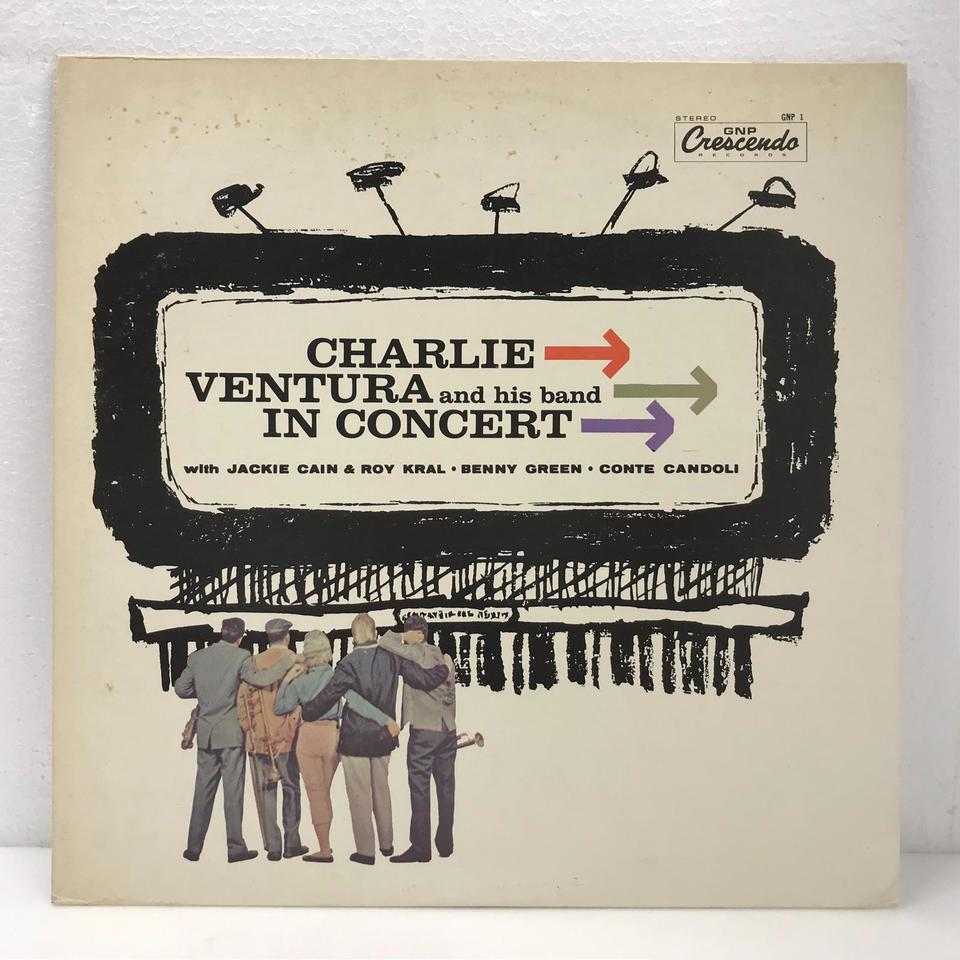 CHARLIE VENTURA AND HIS BAND IN CONCERT CHARLIE VENTURE 画像