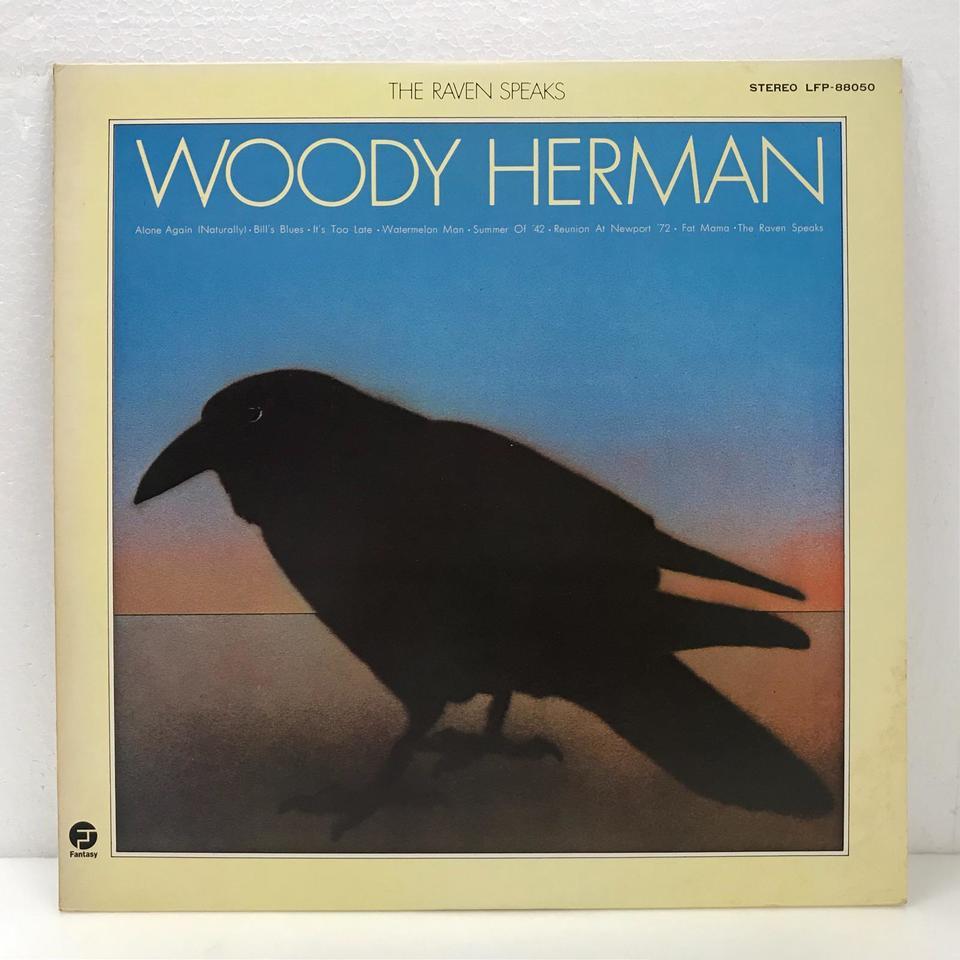 THE RAVEN SPEAKS/WOODY HERMAN WOODY HERMAN 画像