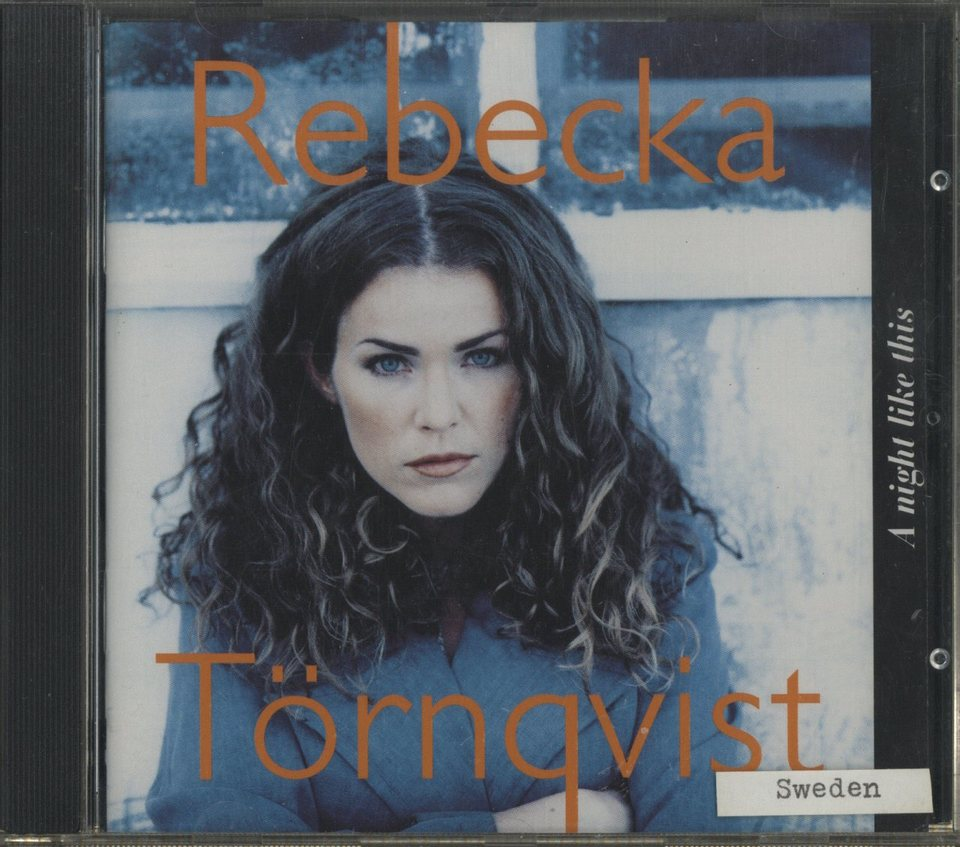 A NIGHT LIKE THIS/REBECKA TORNQVIST REBECKA TORNQVIST 画像