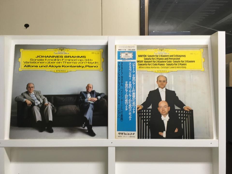 2台ピアノのために作品集5枚セット  画像