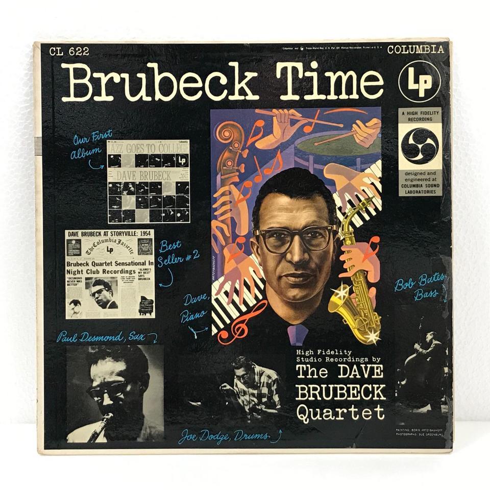 BRUBECK TIME/DAVE BRUBECK DAVE BRUBECK 画像