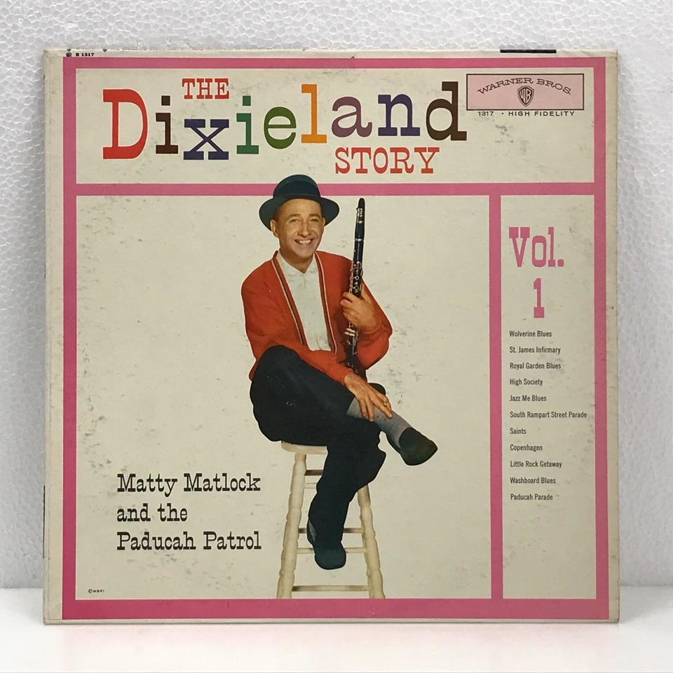 THE DIXIELAND STORY VOL.1/MATTY MATLOCK MATTY MATLOCK 画像