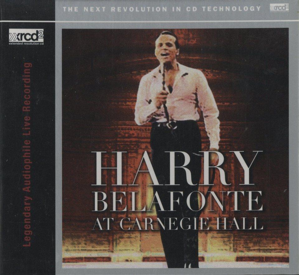 BELAFONTE AT CARNEGIE HALL/HARRY BELAFONTE HARRY BELAFONTE 画像