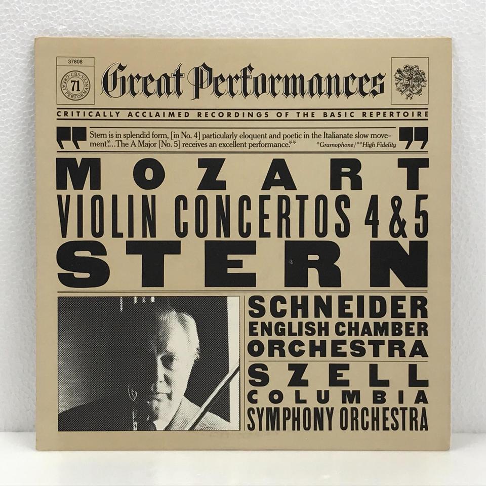 モーツァルト:ヴァイオリン協奏曲第4番、第5番 モーツァルト 画像