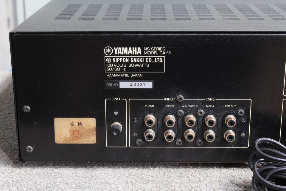 CA-V1 YAMAHA 画像