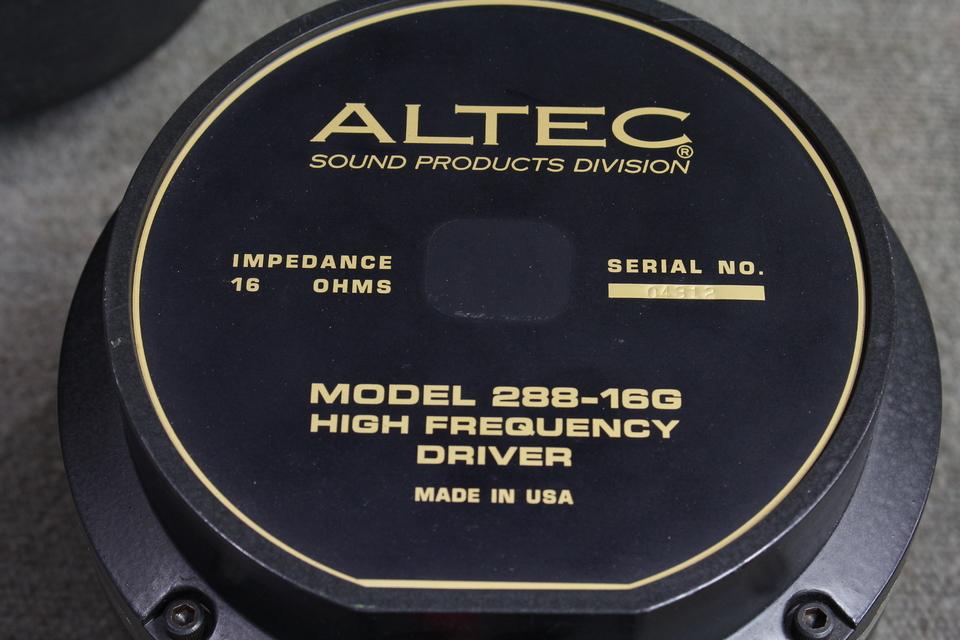 288-16G ALTEC 画像