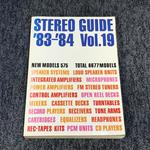 HI-FI STEREO GUIDE VOL.19 '83-'84