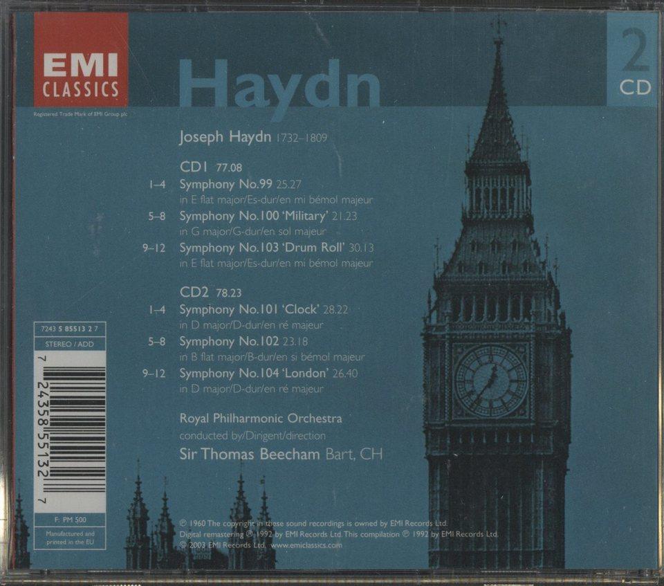 ハイドン:交響曲第99番~第104番 ハイドン 画像