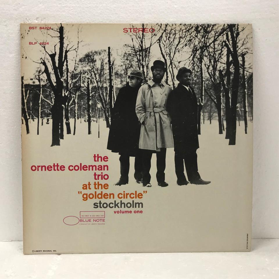 THE ORNETTE COLEMAN TRIO AT THE GOLDEN CIRCLE STOCKHOLM VOL.1 ORNETTE COLEMAN 画像
