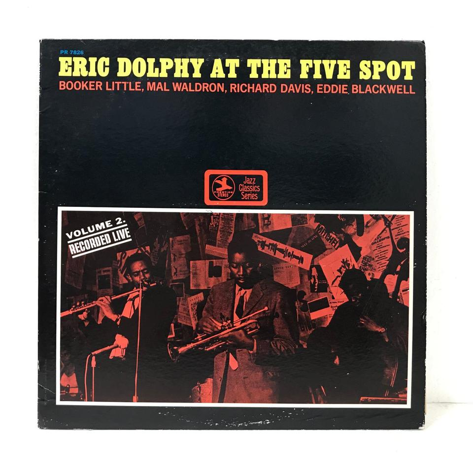 ERIC DOLPHY AT THE FIVE SPOT Vol.2 ERIC DOLPHY 画像