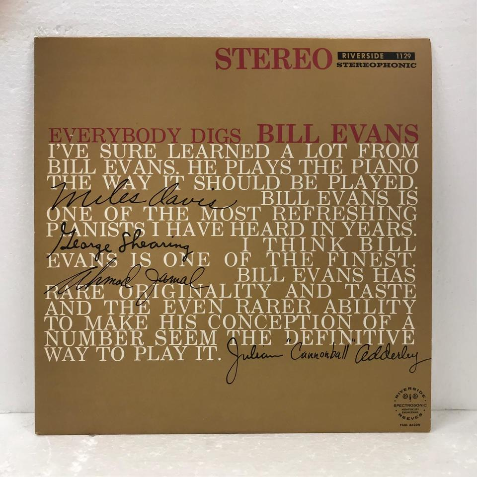 EVERYBODY DIGS/BILL EVANS BILL EVANS 画像
