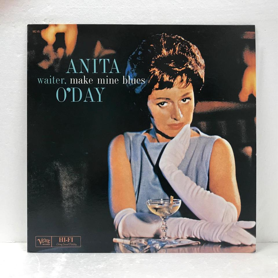 WAITER,MAKE MINE BLUES/ANITA O'DAY ANITA O'DAY 画像