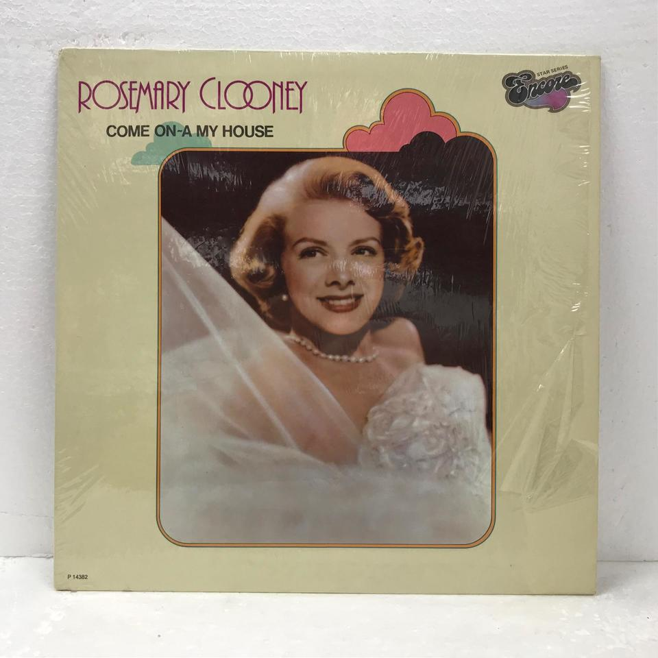 COME ON-A MY HOUSE/ROSEMARY CLOONEY ROSEMARY CLOONEY 画像