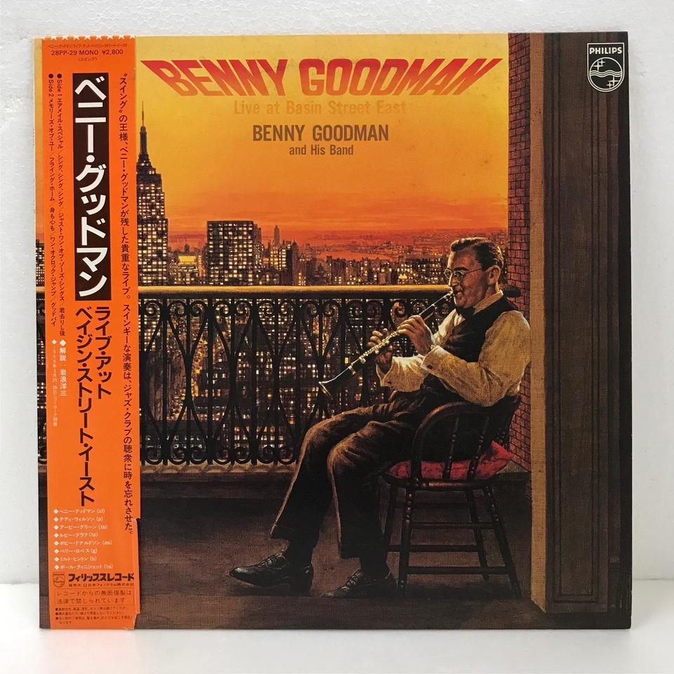 LIVE AT BASIN STREET EAST/BENNY GOODMAN BENNY GOODMAN 画像