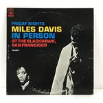 MILES DAVIS IN PERSON FRIDAY NIGHTS AT THE BLACKHAWK, SAN FRANCISCO VOL.1