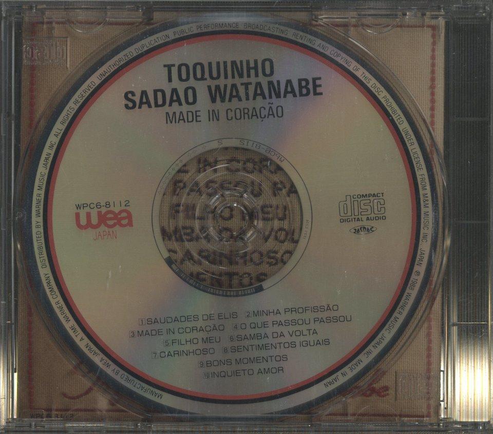 MADE IN CORACAO/TOQUINHO & SADAO WATANABE TOQUINHO/渡辺貞夫 画像