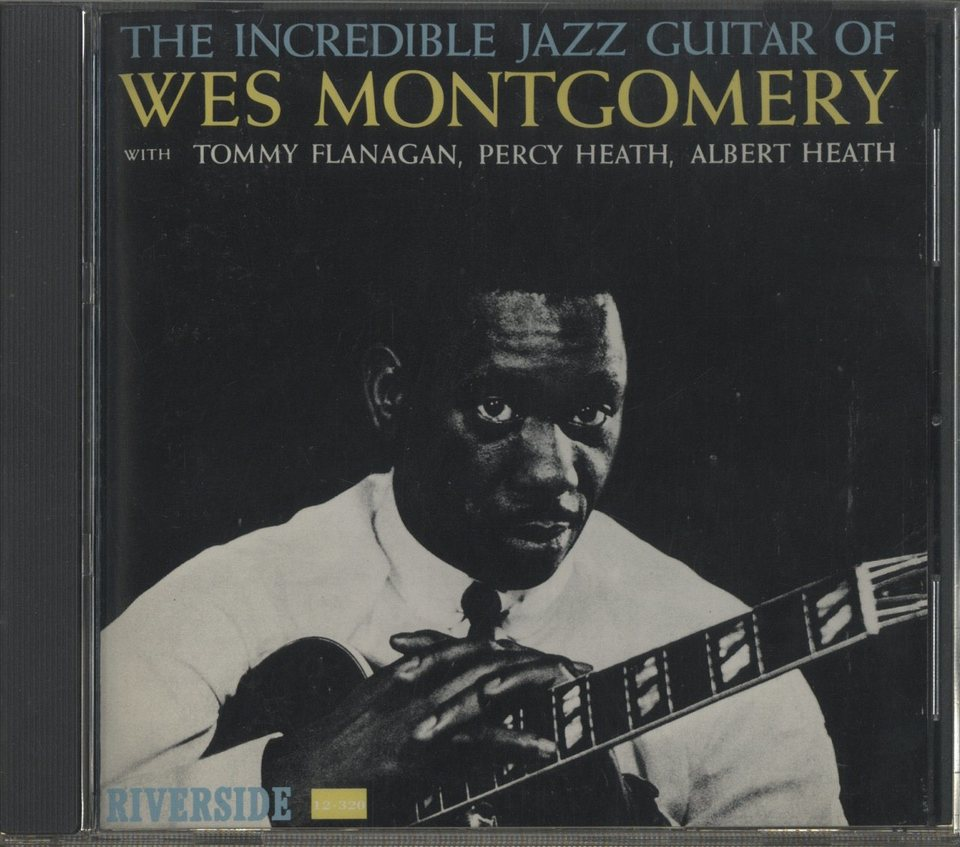 THE INCREDIBLE JAZZ GUITAR OF WES MONTGOMERY WES MONTGOMERY 画像