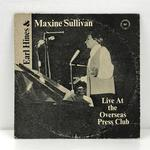 LIVE AT THE OVERSEAS PRESS CLUB/EARL HINES AND MAXINE SULLIVAN