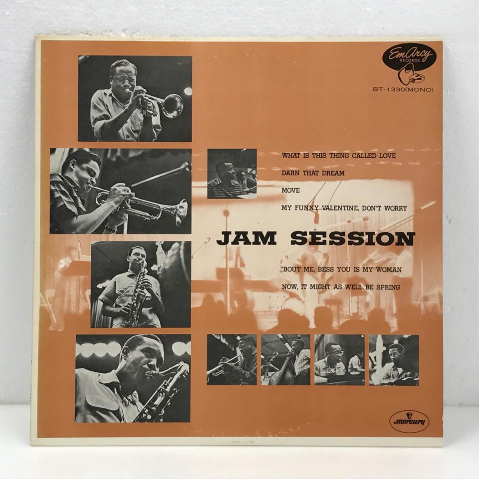 JAM SESSION/CLIFFORD BROWN CLIFFORD BROWN 画像