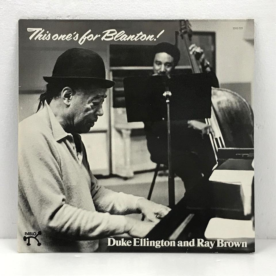 THIS ONE'S FOR BLANTON/DUKE ELLINGTON DUKE ELLINGTON  画像