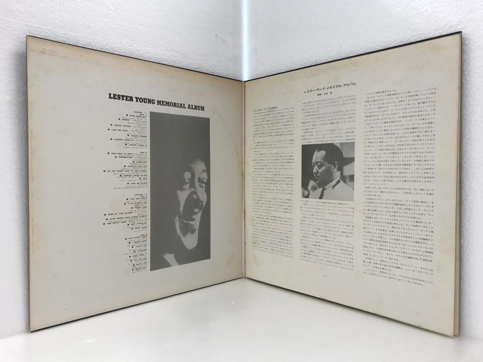 LESTER YOUNG MEMORIAL ALBUM LESTER YOUNG  画像