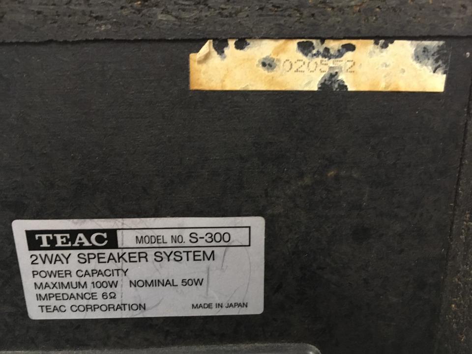 S-300 TEAC 画像