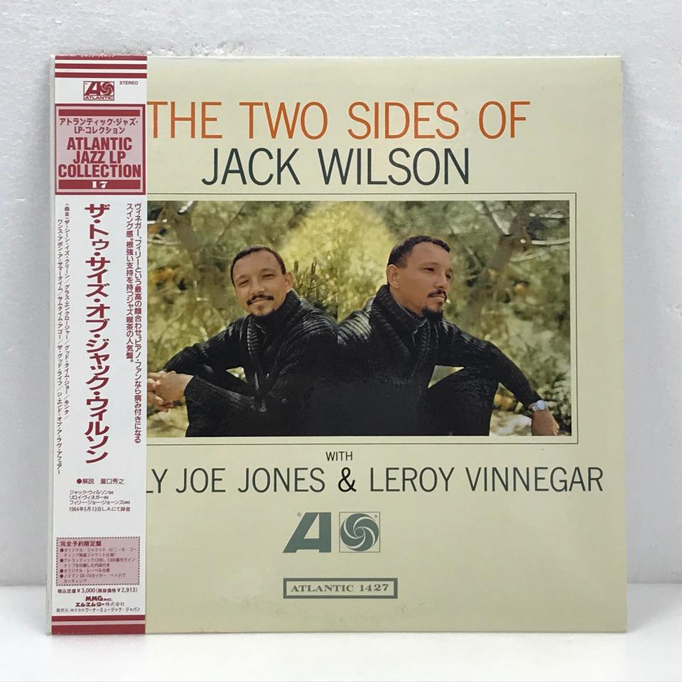 THE TWO SIDES OF JACK WILSON JACK WILSON 画像