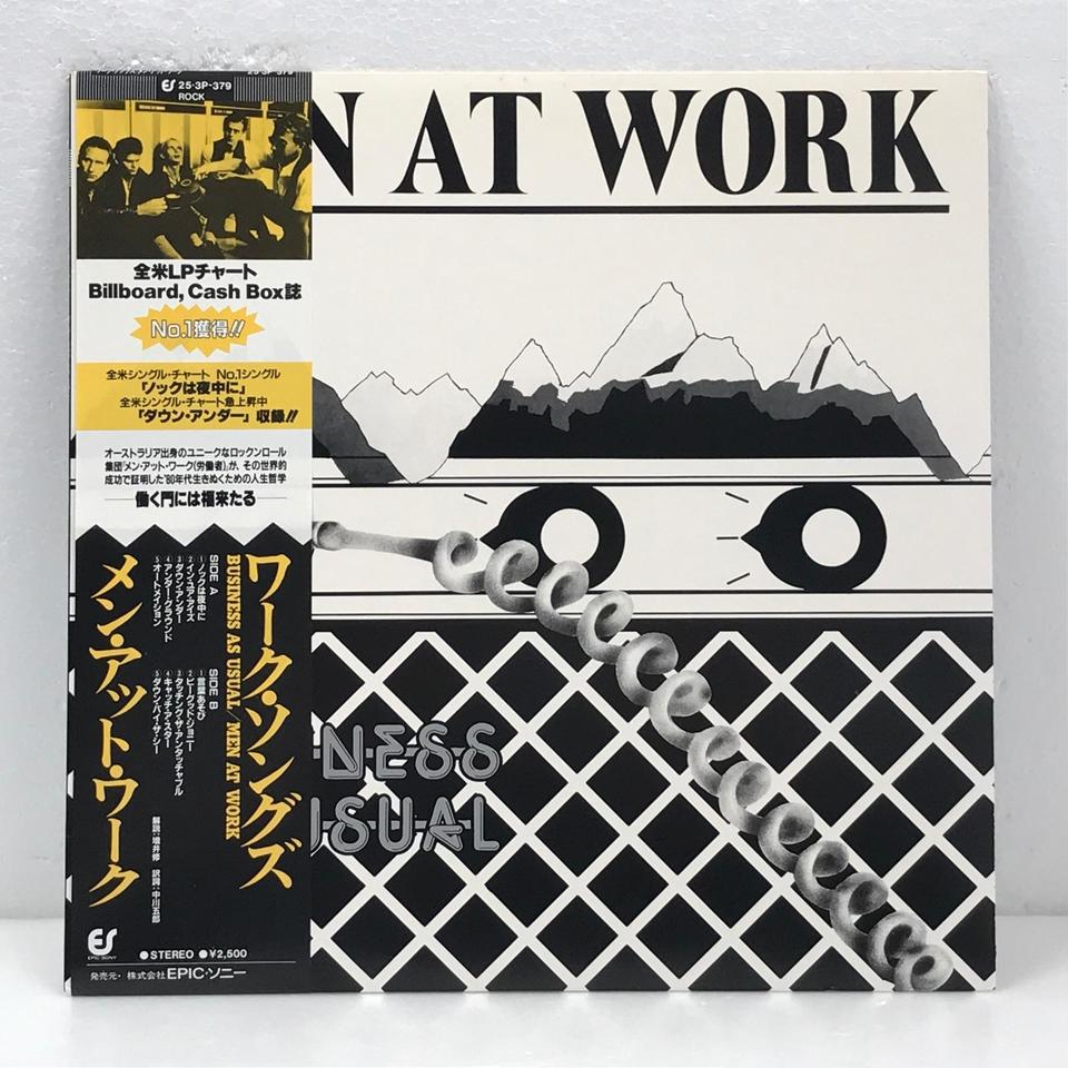 BUSINESS AS USUAL/MEN AT WORK MEN AT WORK 画像
