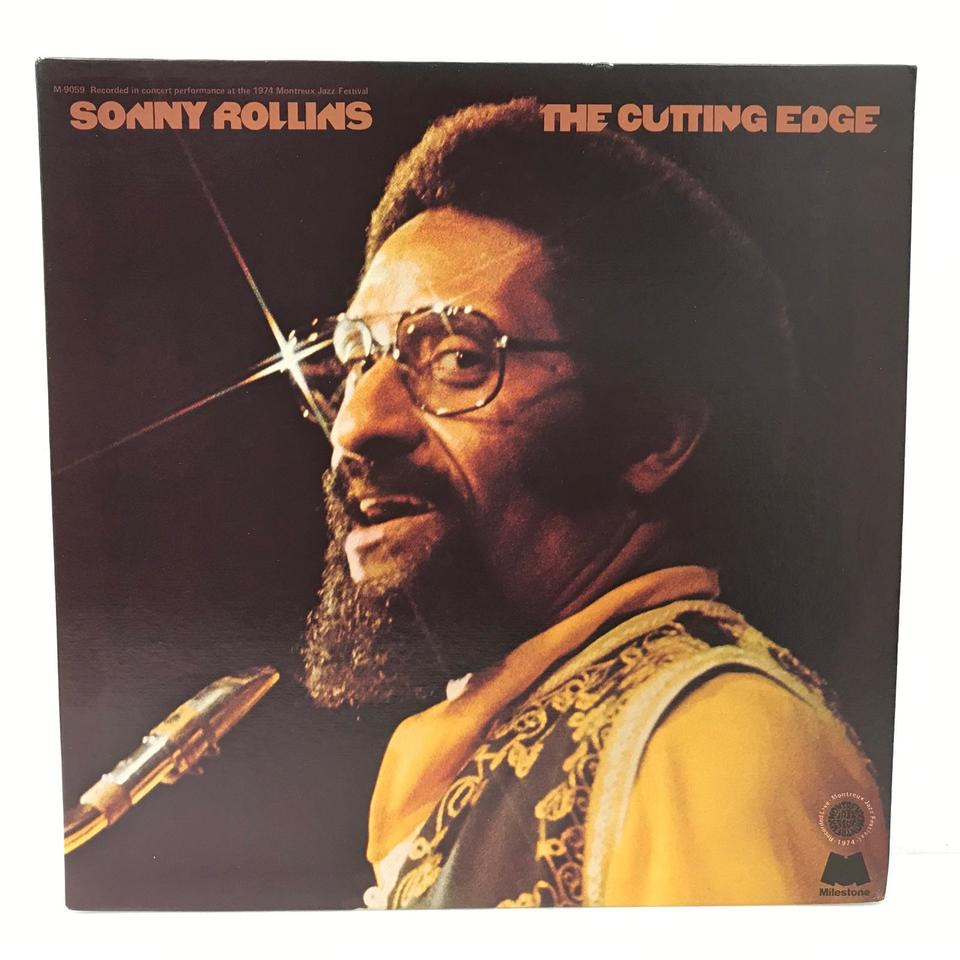 THE CUTTING EDGE/SONNY ROLLINS SONNY ROLLINS 画像