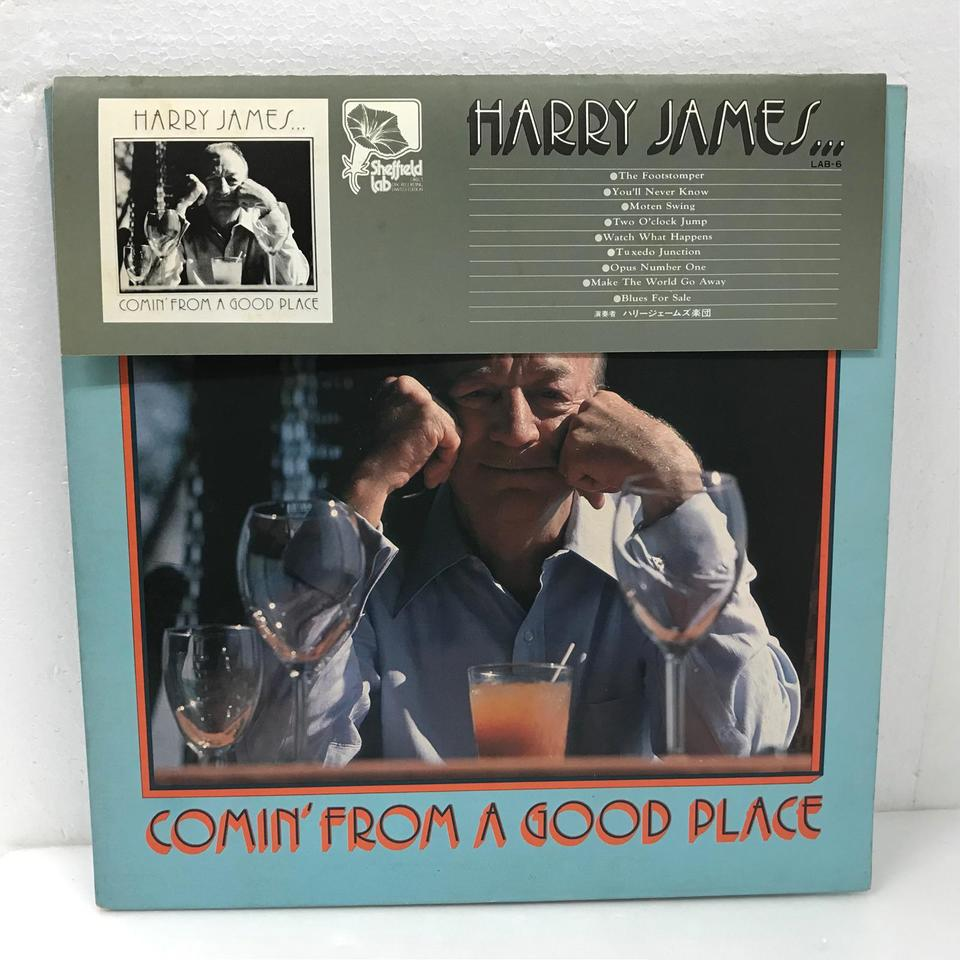 COMIN FROM A GOOD PLACE/HARRY JAMES HARRY JAMES 画像