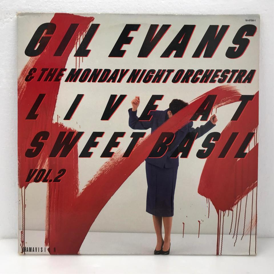 LIVE AT SWEET BASIL VOL.2/GIL EVANS GIL EVANS 画像