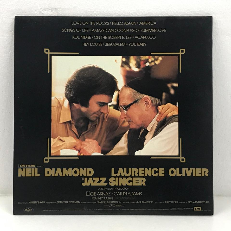 THE JAZZ SINGER/NEIL DIAMOND NEIL DIAMOND 画像