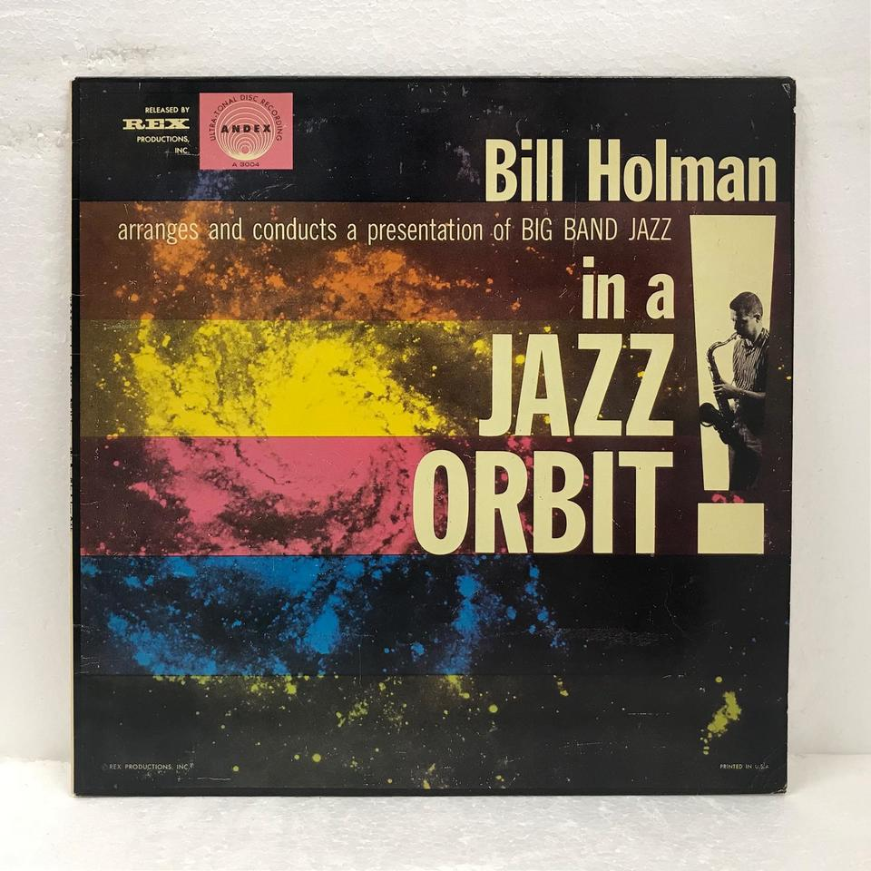 IN A JAZZ ORBIT/BILL HOLMAN BILL HOLMAN 画像