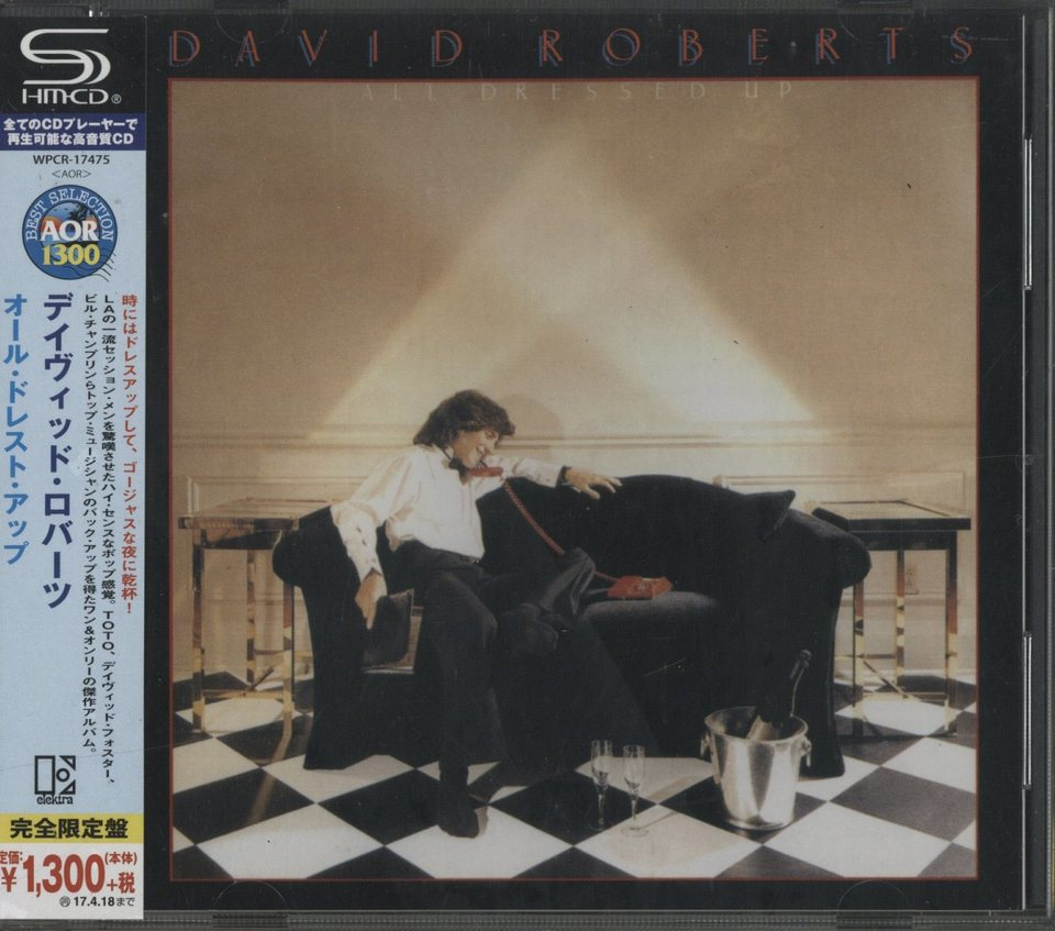 ALL DRESSED UP/DAVID ROBERTS DAVID ROBERTS 画像