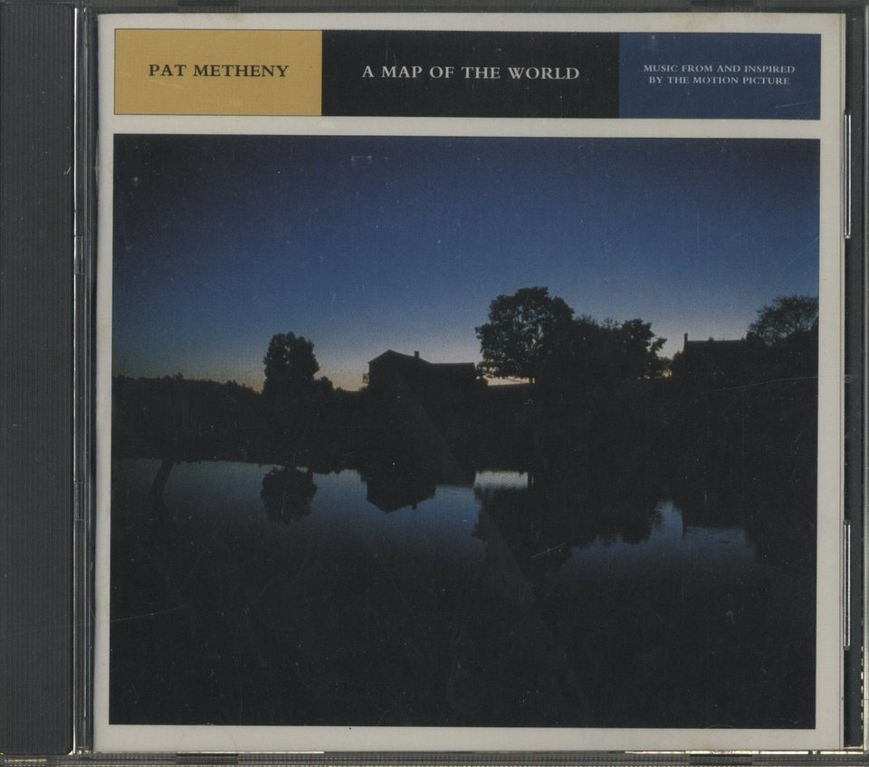 A MAP OF THE WORLD/PAT METHENY PAT METHENY 画像