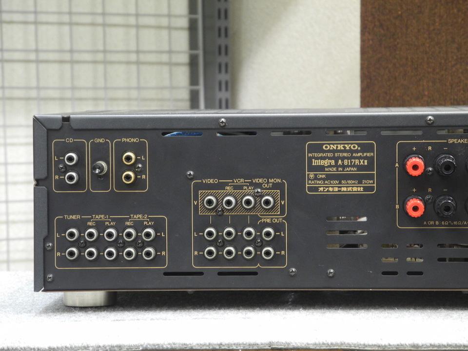 Integra A-817RX2  ONKYO 画像